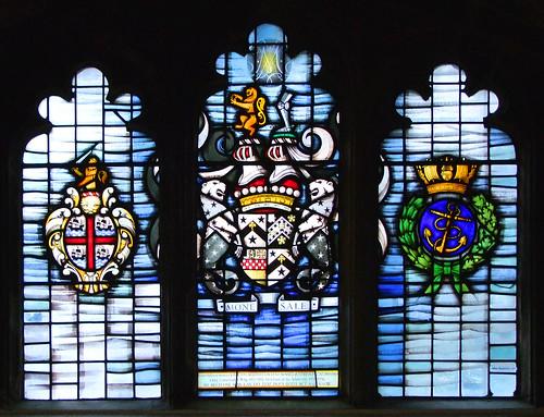 memorial window by John Hayward