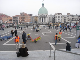 View from Venice railway station