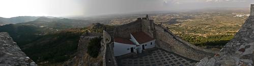 panorama tower castle stitch marvão