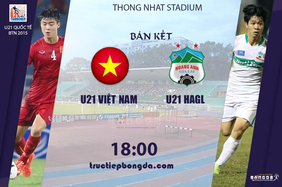U21 Việt Nam vs U21 Hoàng Anh Gia Lai