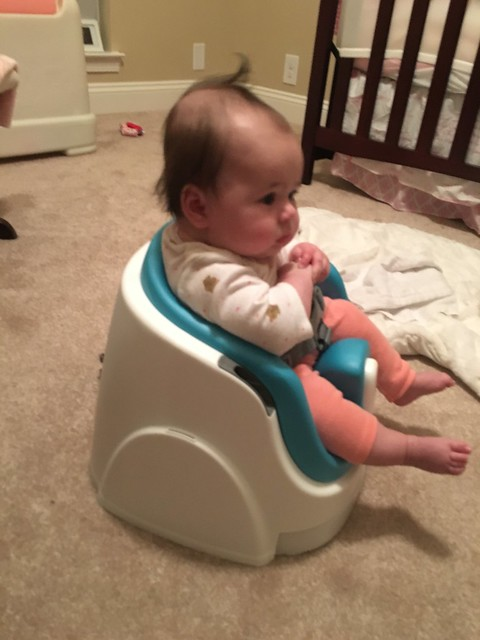 Sitting up (assisted)