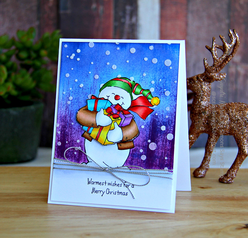 Let it snow card 1