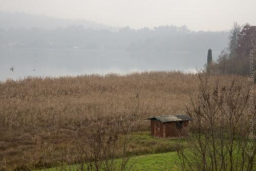 Lago di Annone Brianza:il capanno