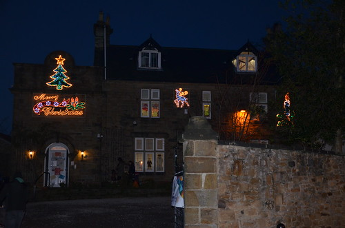 Whickham Christmas Lights switch on