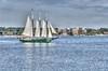 Schooner Alliance on the York River