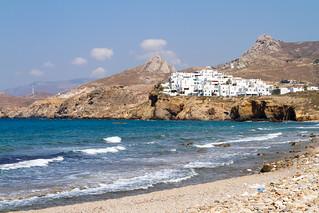 Obraz Grotto Beach Plaża o długości 390 m. vacation greece naxos
