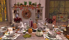 Thanksgiving 2015- Welcome Tablescape