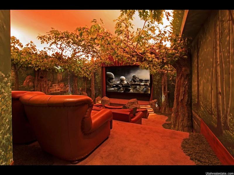 Красивый домашний кинотеатр