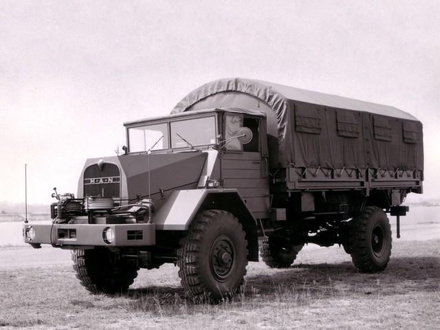 Армейский грузовик MAN 630L2 AE. 1956 – 1972 годы