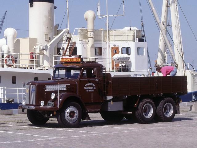 Бортовой грузовик Scania-Vabis LS71. 1954 – 1958 годы