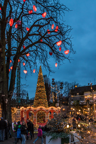 Christmas spirit at Tivoli