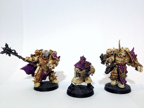 Slannesh Chaos Space Marines