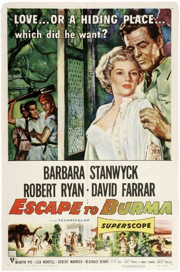 Escape to Burma - Poster 1