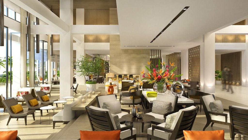 桃園大溪笠復威斯汀度假酒店The Westin Tashee Labby Lounge