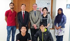 20161031Prof. Jean-Pierre Sauvage visited us.