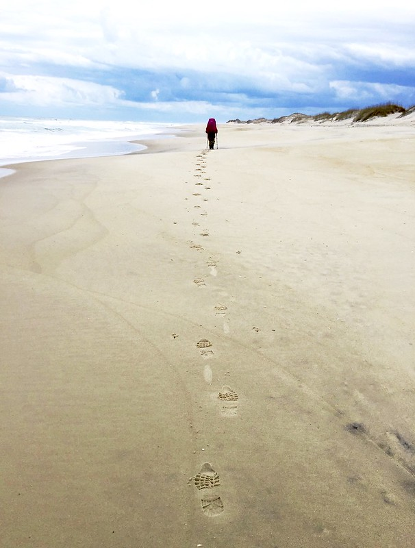 2nd Place - People on the Trail - Pamela Ireland-Footsteps