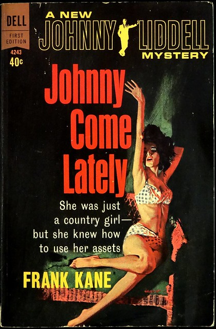 Dell First Edition 4243 (Sept., 1963). First Printing. Cover Art by Ronnie Lesser.