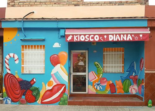 Graffiti Kiosco Diana