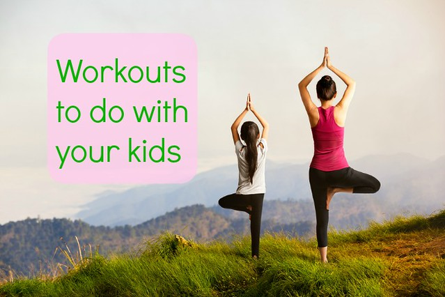 Mother-child workouts for active families