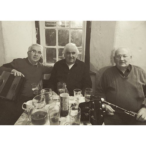three of the finest session musicians in Clare, if not the world . . .