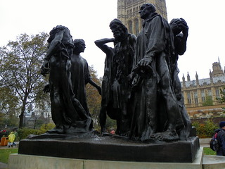 Image of The Burghers Of Calais. 2016 augusterodin building burghersofcalais cityofwestminster england gayoutdoorclub goc gochertfordshire goclondonpublicart grade1listed grade1listedbuilding gradeilisted gradeilistedbuilding gradeone gradeonelisted gradeonelistedbuilding greaterlondon hertfordshiregoc kodak kodakeasysharez981 listed listedbuilding london londonsw1 outdoor theburghersofcalais victoriatowergardens westminster z981