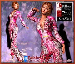 Paisley Daisy - Jumpsuit Couture Playtime Pink Valentino Inf)