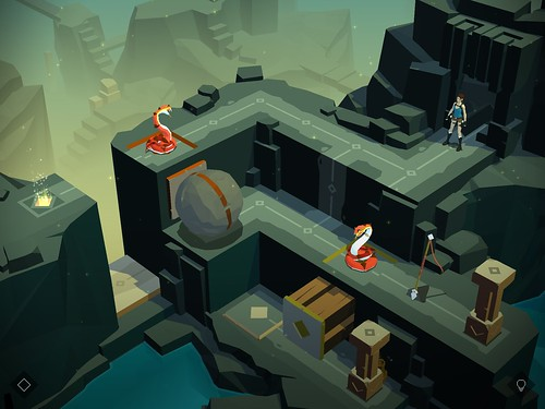 Lara Croft GO Apple Ipad Air 09