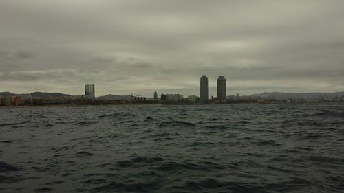 Segon dia del viatge frustrat: Garraf - Barcelona