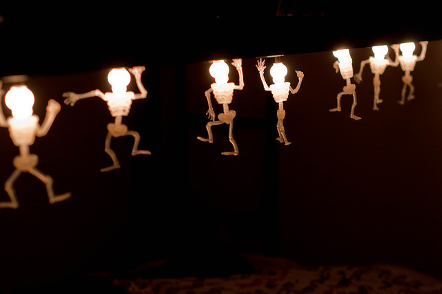 Skeleton dance