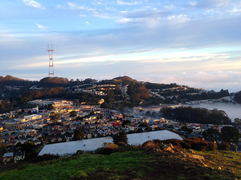Mount Davidson Sunrise