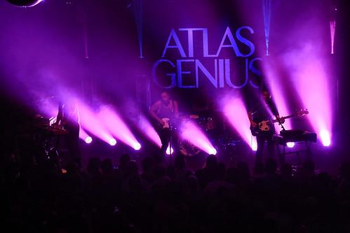 Atlas Genius - The Independent - August 30, 2015