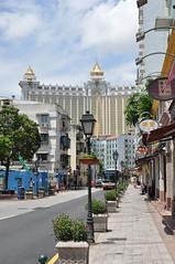 Walking towards Galaxy Macau