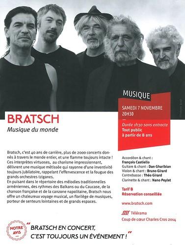 LA QUINTAINE à Chasseneuil-du-Poitou - 2015 - Concert BRATSCH - 07 11 2015 - 2