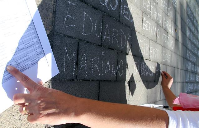 #TODOSLOSNOMBRES - PERFORMANCE DE LUIS MELÓN ARROYO EN LA PLAZA DE SAN MARCOS - 12 DE SEPTIEMBRE´15