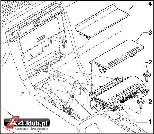 70944 - Instalacja przełącznika deaktywacji poduszki pasażera AIR BAG OFF - 18