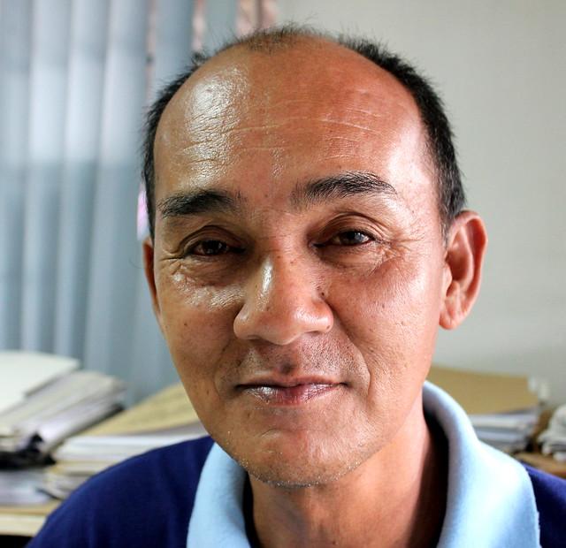 Alang-Alang Municipal Engineer Michael A. Alve