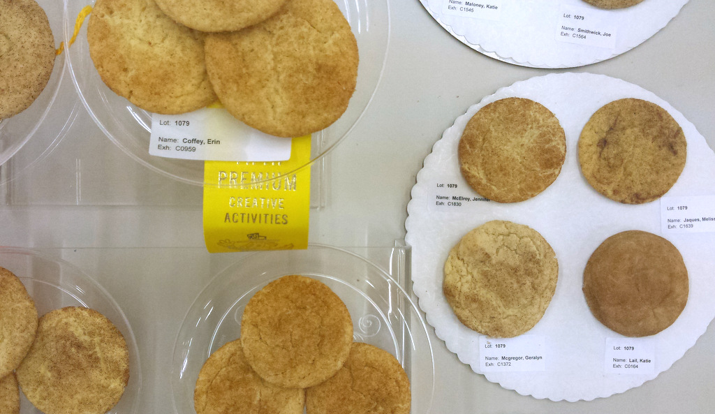 several entries in the snickerdoodles contest