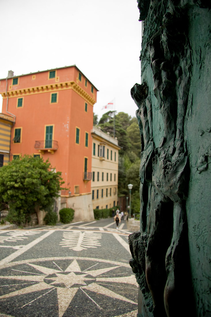 Colorful buildings in Portofino