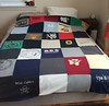 T-shirt bed spread with NUFAN