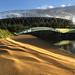 Stadium ripples by diamond geezer