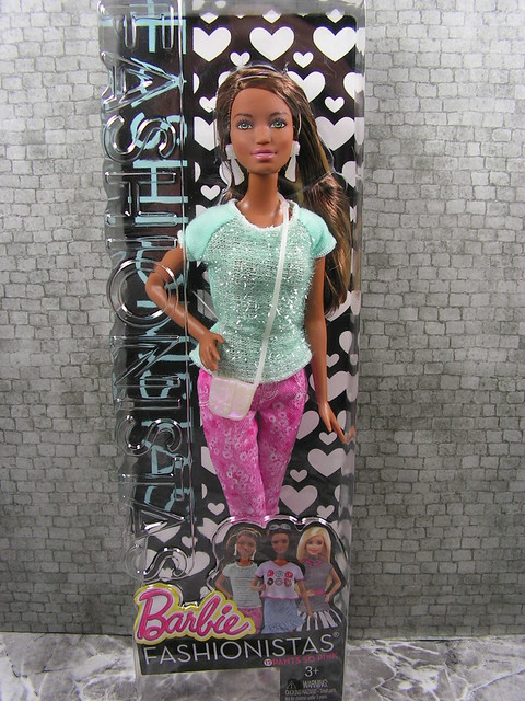 2014 Barbie Fashionistas 12 Pants So Pink CLN65 (2)