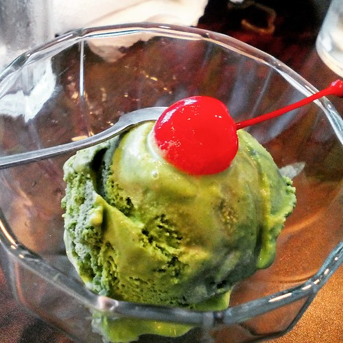 Rosanjin Green Tea Ice Cream