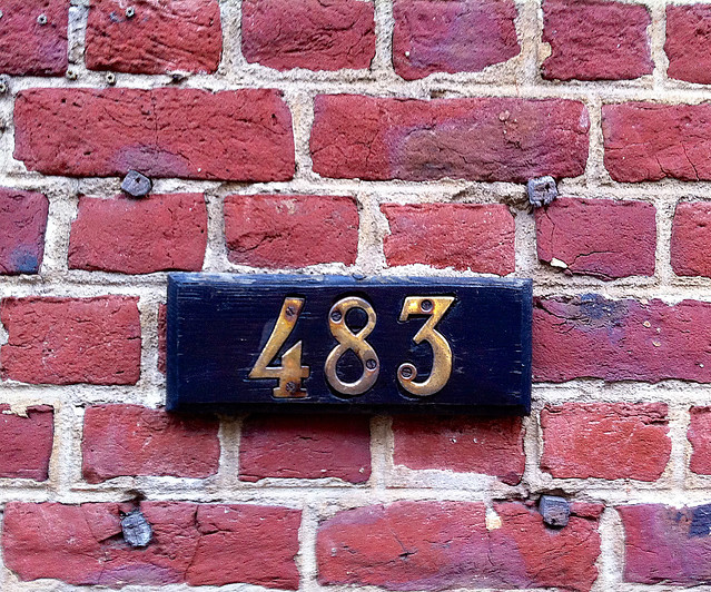 Bruxelles. House numbering #1