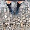 wooden paving bricks. by Jukie Bot