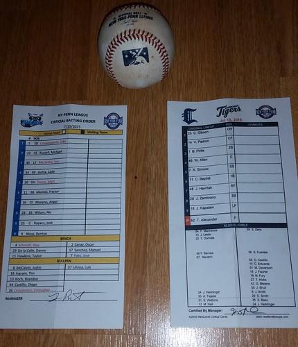 CT Tigers July 19, 2015