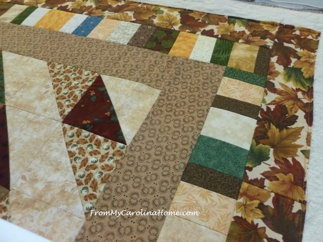 Offset Diamond Quilt 9