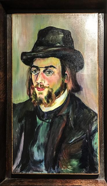 Portrait d'Erik Satie 1892-1893 - Suzanne Valadon