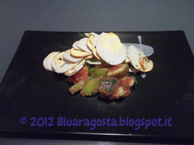2-ovoli  con insalata di fichi freschi