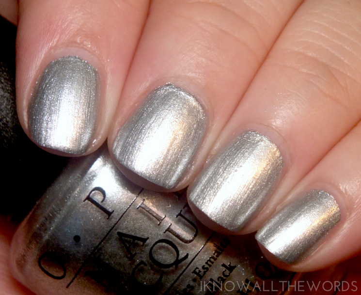OPI Starlight Collection I Drive a Supernova