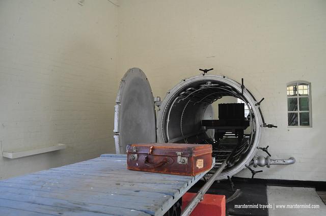 Inside Quarantine Station at Port Nepean National Park